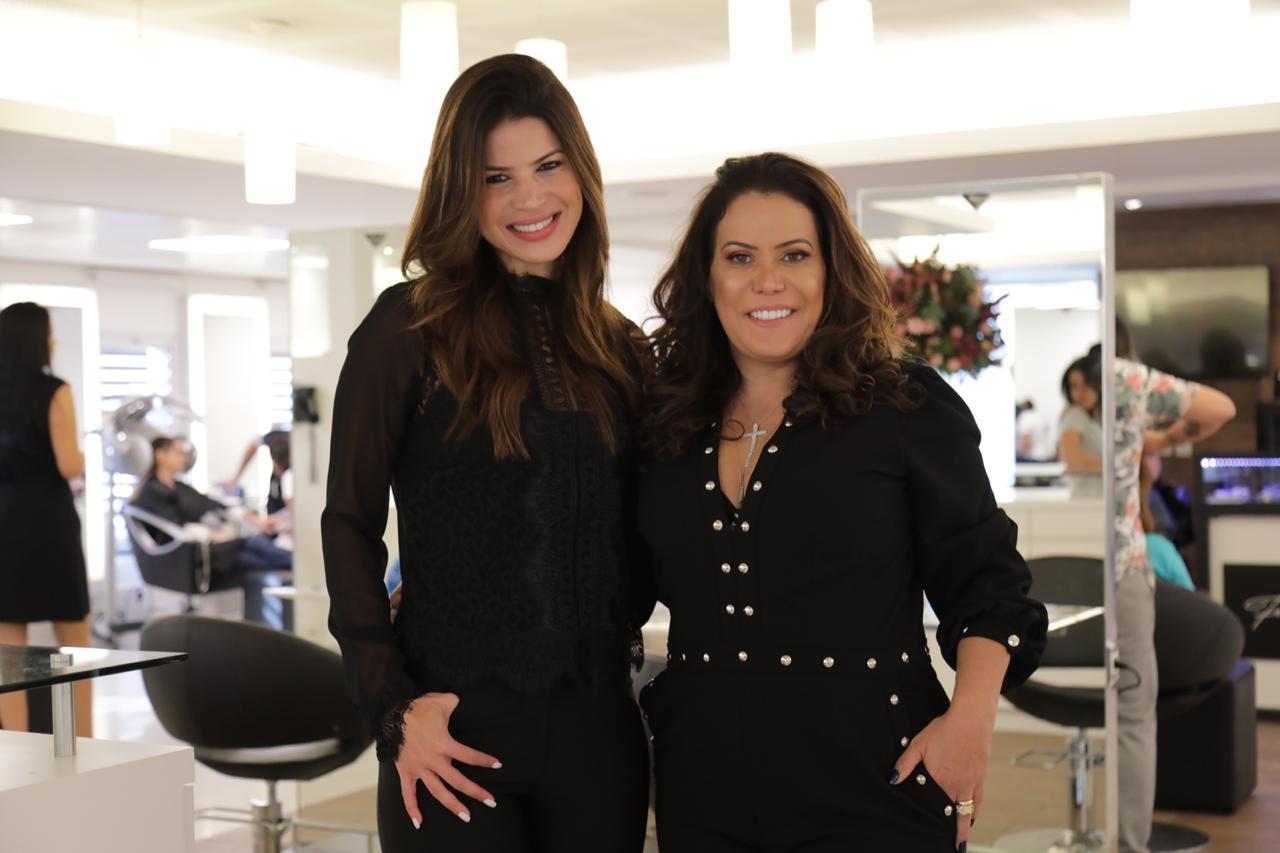 Thatiana Brasil e Elaine Haberkorn