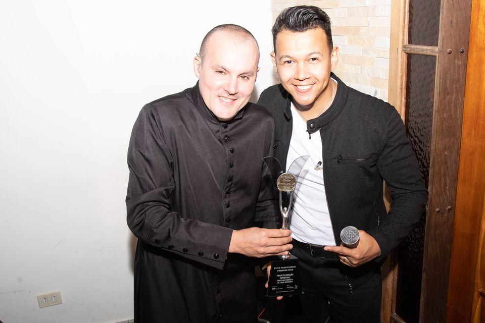 Christian Moraes e Padre Gean Medeiros