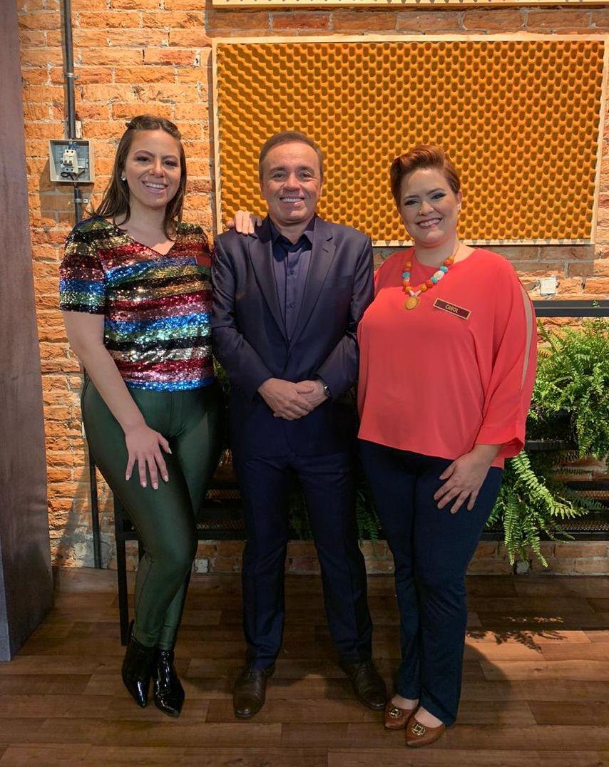 Rafa Mussolini, Gugu Liberato e Carol Rodrigues