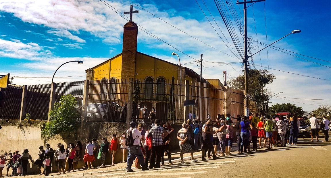 Paróquia São Francisco de Assis, na Zona Sul de São Paulo