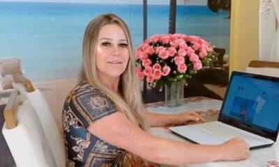 Luciane Marte que conquistou a internet e arrecadou milhões de reais (Divulgação)