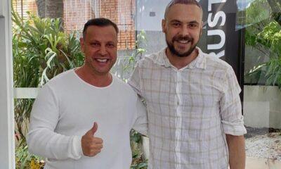 Dr.Antonio Ruston e Sérgio Guizé - Fotos: Roneia Forte / Renato Cipriano - Divulgação