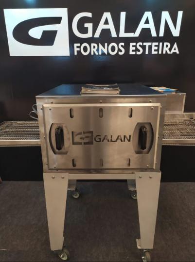Conheça a GGALAN, Inovadora fábrica de fornos esteira: Assa pizzas em 2 minutos!!!