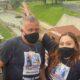 Camila Rossado e seu pai Horácio Rossado