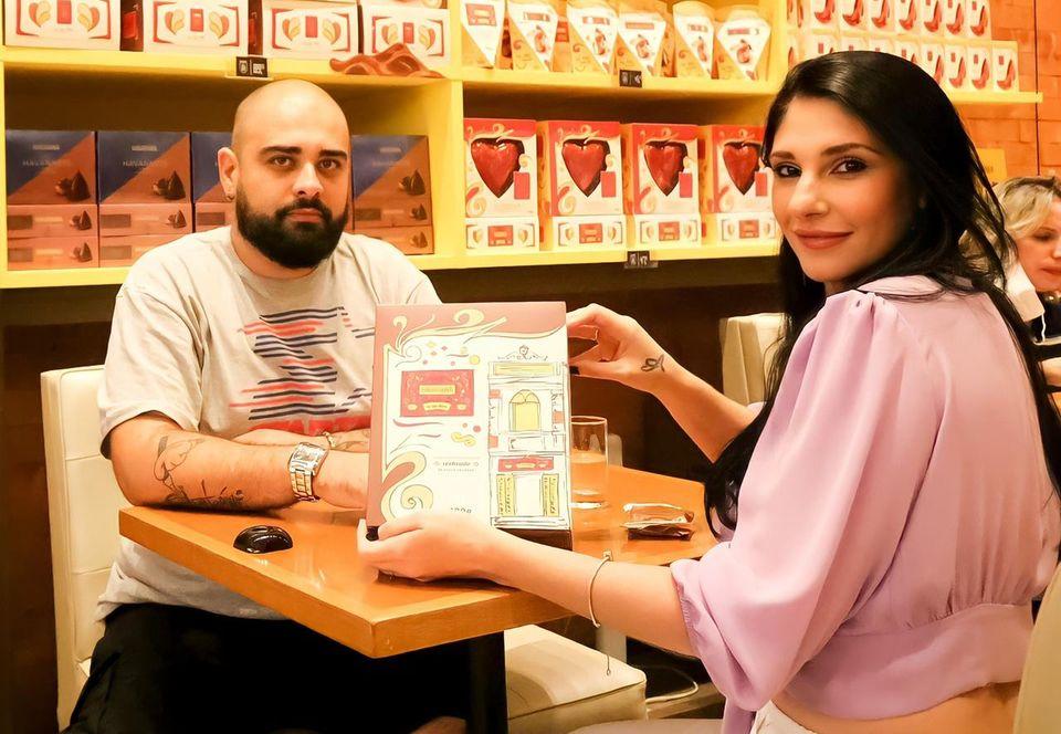 Thiago Rosinhole e Viviane Cavitioli - Foto: Divulgação