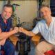 Dr. Antonio Ruston e Bruno Gagliasso - Foto: Divulgação