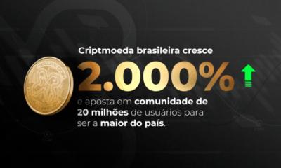 Moeda da maior rede social brasileira supera o BTC em sua primeira semana e ultrapassa os 2000%